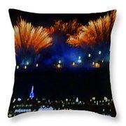 Macy's 2014 Fireworks Throw Pillow