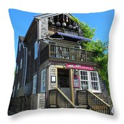 Mad In Edgartown Throw Pillow