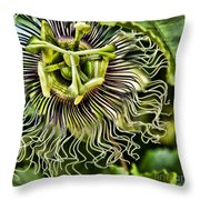Mad Passion Throw Pillow