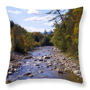 Mad River Throw Pillow