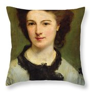 Madame Charles Garnier Throw Pillow