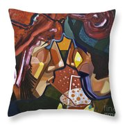 Made For Sharing Throw Pillow