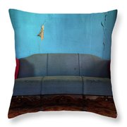 Made For Three Throw Pillow