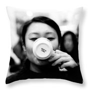 Made In China Throw Pillow