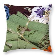 Made In Provence Throw Pillow