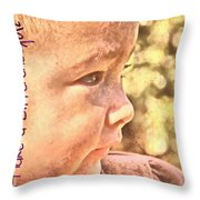 Made To Make A Difference Throw Pillow