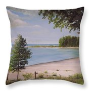 Madelyn's Point Throw Pillow
