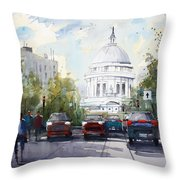 Madison - Capitol Throw Pillow