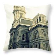 Madison County Throw Pillow