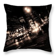 Madison Square Garden Throw Pillow