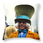 Madness I Say Throw Pillow