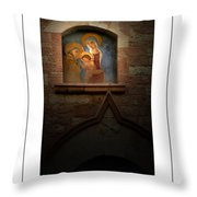 Madonna And Child Poster Throw Pillow