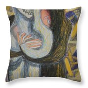 Madonna Annodam Throw Pillow