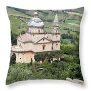 Madonna Di San Biagio Throw Pillow