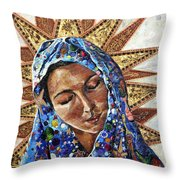 Madonna Of The Dispossessed Throw Pillow