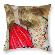 Mag Mad3 Throw Pillow