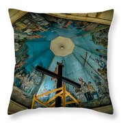 Magellans Cross Throw Pillow