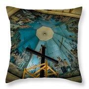 Magellans Cross Throw Pillow