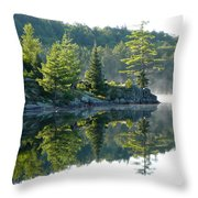 Maggie Lake 2 Throw Pillow