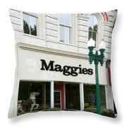 Maggie's Throw Pillow