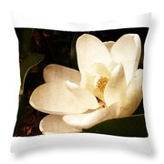 Maggnolia II Throw Pillow by Tanya Jacobson-Smith