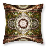 Magic Carpet Throw Pillow