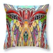 Magic Elephant Throw Pillow