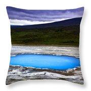 Magic Iceland Throw Pillow
