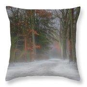 Magic In The Fog 3 Throw Pillow