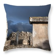 Bronze Edge In Minorca Called Talaiotic Age Unique At World - Magic Island 1 Throw Pillow
