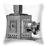 Magic Lantern, 1891 Throw Pillow