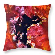 Magic Night Throw Pillow by Isabelle Vobmann