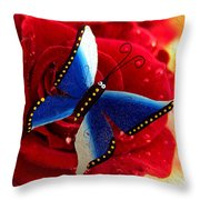 Magic On The Wall Throw Pillow