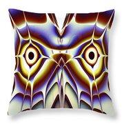 Magic Owl Throw Pillow