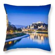Magic Salzburg Throw Pillow