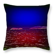 Can You See This Magic Seascape Or Is It Only Me  Throw Pillow