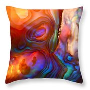 Magic Shell Throw Pillow