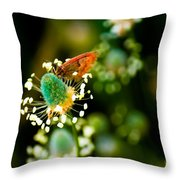 Magic Spring Throw Pillow