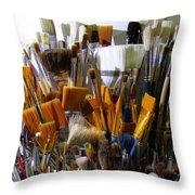 Magic Wands Throw Pillow