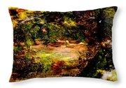 Magical Forest - Myth - Fantasy Throw Pillow