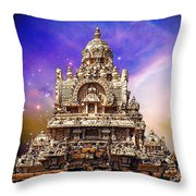 Magical India Throw Pillow