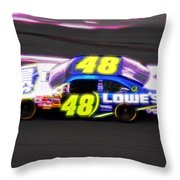 Magical Jimmy Johnson  Throw Pillow