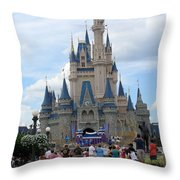 Magical Kingdom Throw Pillow