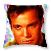 Magical Kirk Throw Pillow