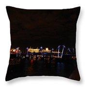 Magical London Throw Pillow
