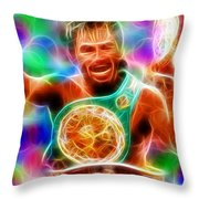 Magical Manny Pacquiao Throw Pillow