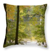 Magical Maplewood Throw Pillow