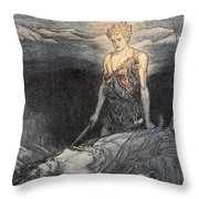 Magical Rapture Pierces My Heart; Fixed Throw Pillow