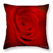 Magical Rose Throw Pillow
