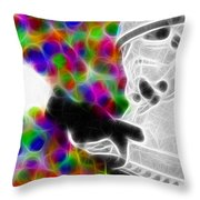 Magical Storm Trooper Throw Pillow